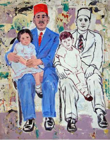 Mohamed Abla, Blue Suit , 2007