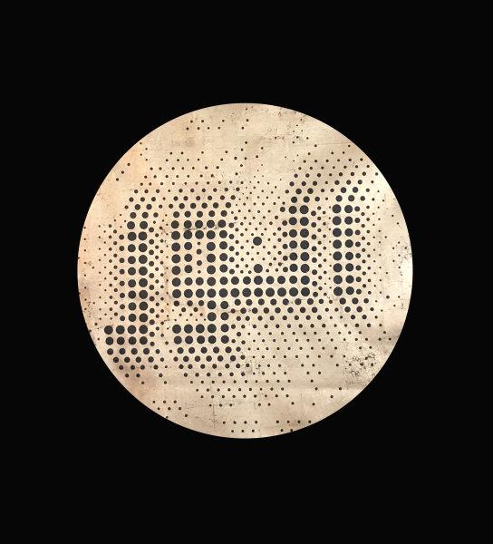 Lulwah Al Homoud, Al Nour-Gold –Circle, 2017