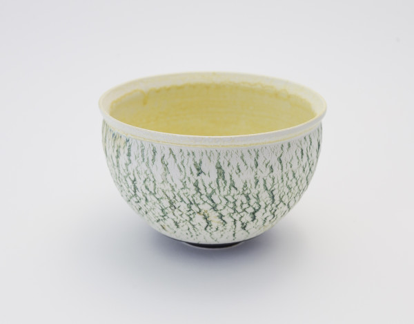 Hugh West, Green Crackled Buttermilk Bowl