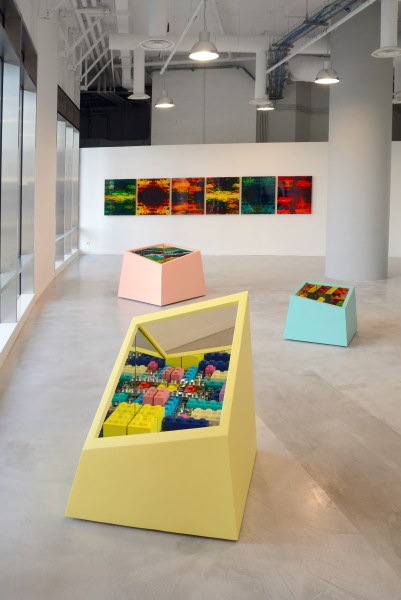 Matteo Negri: Multiplicity – ABC-ARTE Contemporary art Gallery – 2015 veduta installazione