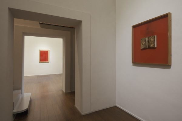 Bernard Aubertin, PIctorial situation of red, Installation view