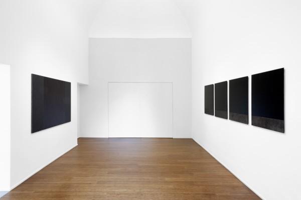 11 Tomas Rajlch Black Paintings 1976 79 Installation View 8325