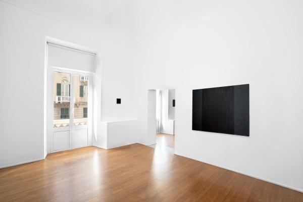 12 Tomas Rajlch Black Paintings 1976 79 Installation View