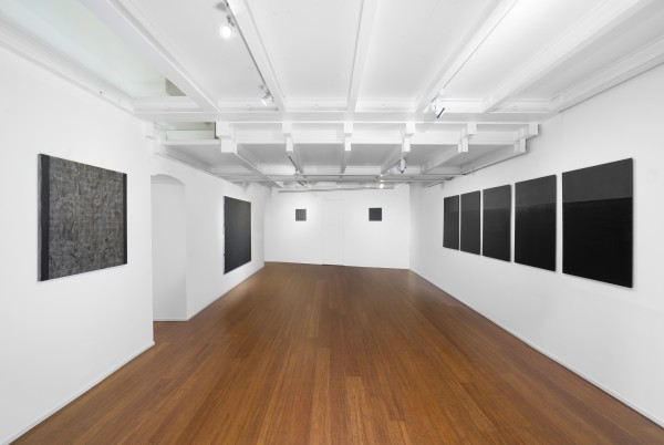 14 Tomas Rajlch Black Paintings 1976 79 Installation View