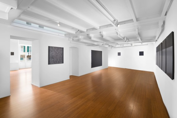 15 Tomas Rajlch Black Paintings 1976 79 Installation View