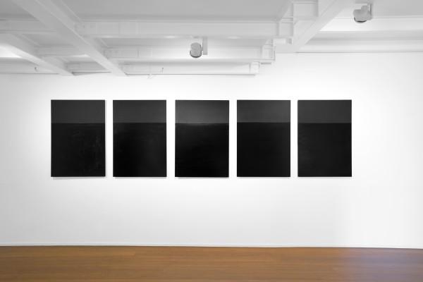 19 Tomas Rajlch Black Paintings 1976 79 Installation View