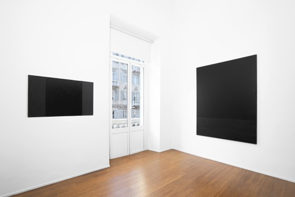 2 Tomas Rajlch Black Paintings 1976 79 Installation View