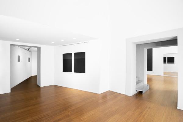 3 Tomas Rajlch Black Paintings 1976 79 Installation View