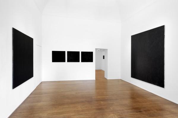 4 Tomas Rajlch Black Paintings 1976 79 Installation View