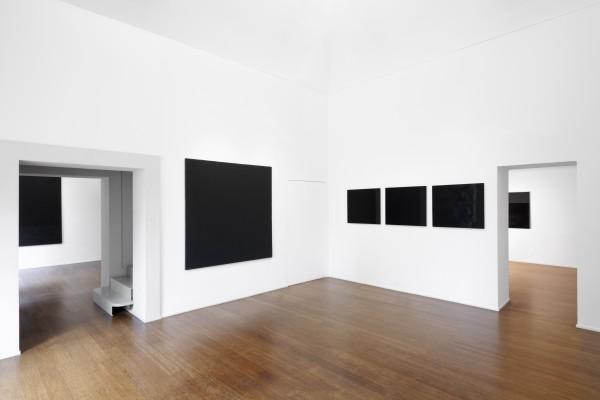 5 Tomas Rajlch Black Paintings 1976 79 Installation View