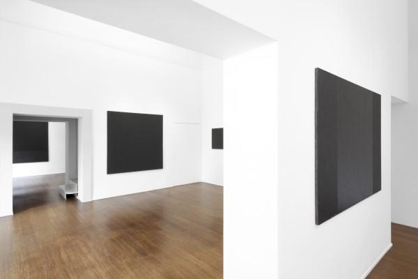 9 Tomas Rajlch Black Paintings 1976 79 Installation View 8333