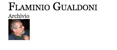 Flaminio Gualdoni Archivio
