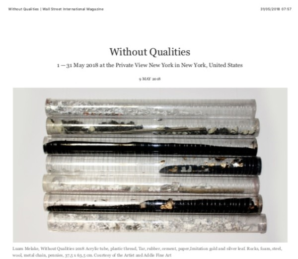 Without Qualities