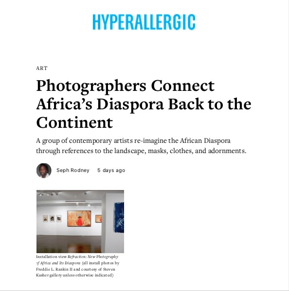 Photographers Connect Africa's Diaspora Back to the Continent