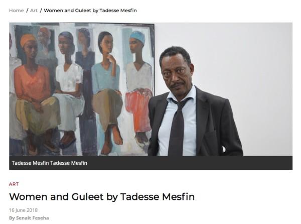 Women and Guleet by Tadesse Mesfin
