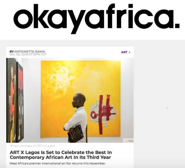 ART X Lagos Is Set to Celebrate the Best In Contemporary African Art In Its Third Year | Okay Africa | Image