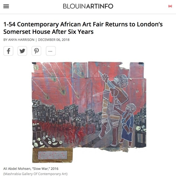 1-54 Contemporary African Art Fair Returns to London's Somerset House After Six Years | Main Image