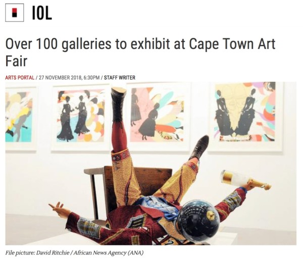 Over 100 galleries to exhibit at Cape Town Art Fair | Main Image