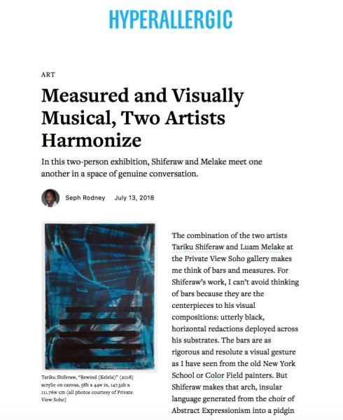 Measured and Visually Musical, Two Artists Harmonize | Main Image