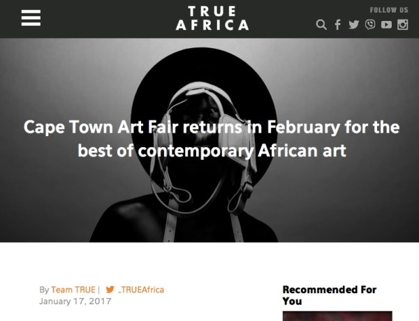 Cape Town Art Fair returns in February for the best of contemporary African art