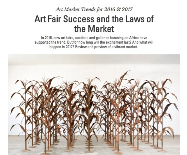 Art Market Trends for 2016 & 2017 Art Fair Success and the Laws of the Market