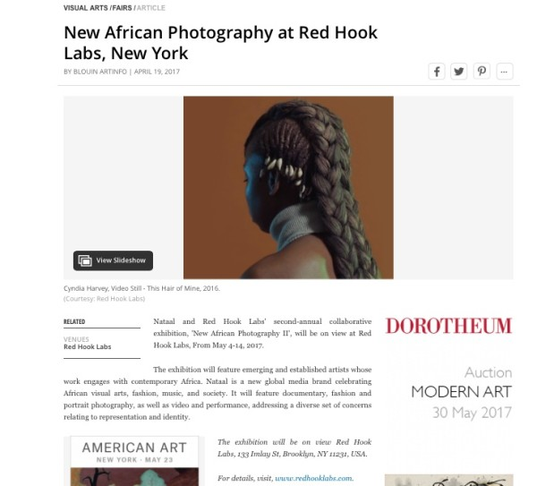 New African Photography at Red Hook Labs, New York