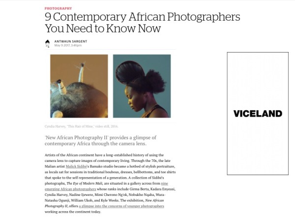9 Contemporary African Photographers You Need to Know Now