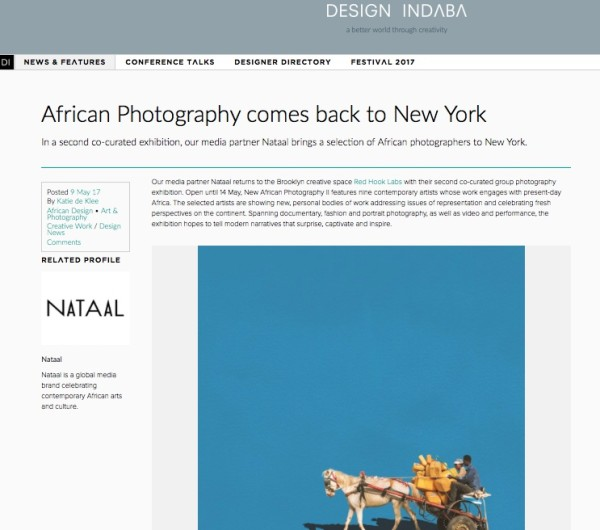 African Photography comes back to New York
