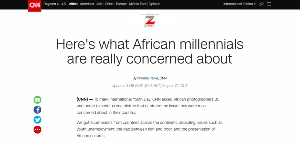 Here's what African Millennials are really concerned about