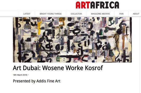Art Dubai: Wosene Worke Kosrof