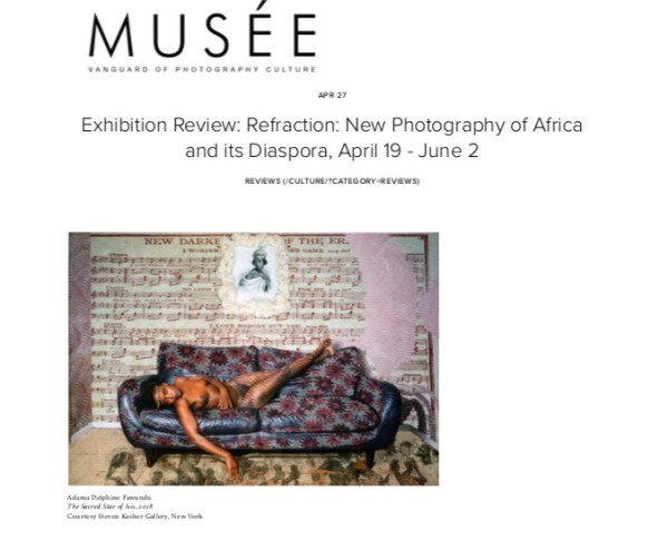 Exhibition Review: Refraction: New Photography of Africa and its Diaspora, April 19 - June 2