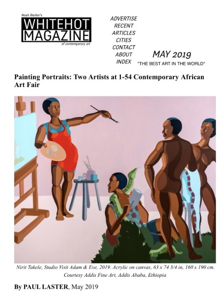 Painting Portraits: Two Artists at 1-54 Contemporary African Art Fair