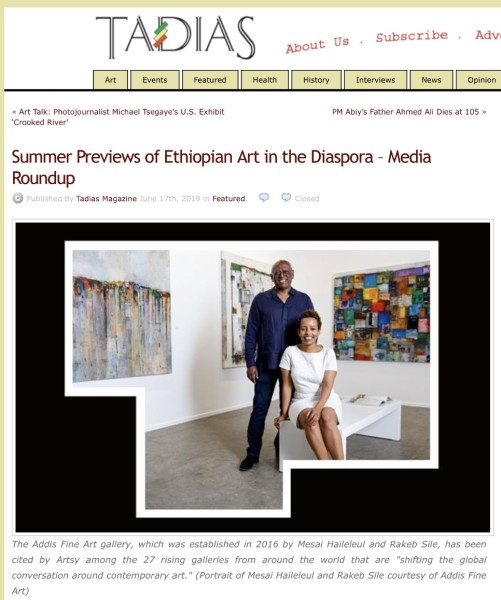Press | Addis Fine Art