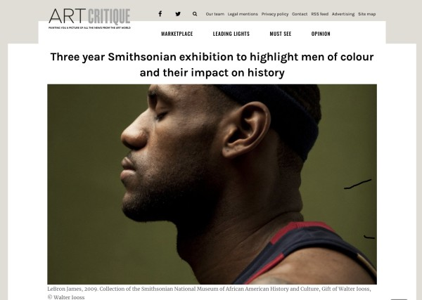 Three year Smithsonian exhibition to highlight men of colour and their impact on history