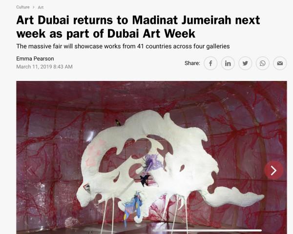 Art Dubai returns to Madinat Jumeirahnext week as part of Dubai Art Week