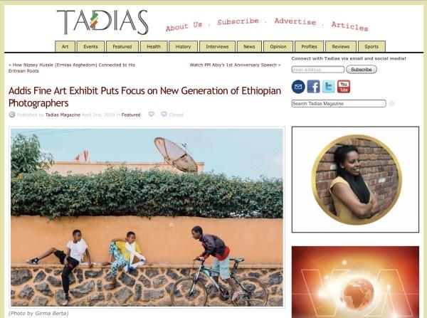 Addis Fine Art Exhibit Puts Focus on New Generation of Ethiopian Photographers