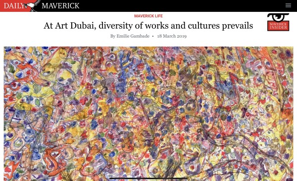 At Art Dubai, diversity of works and cultures prevails