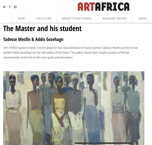 The Master & his Student Tadesse Mesfin & Addis Gezehagn