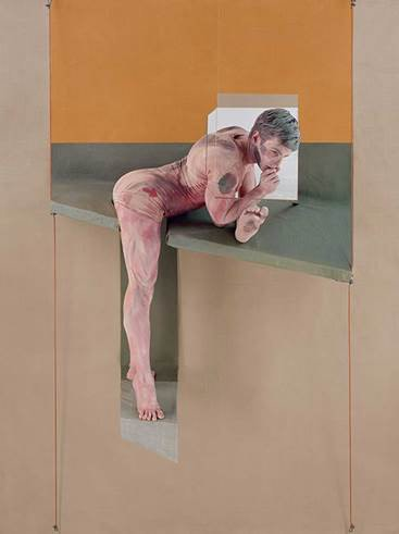 "After ""Study for Human Body, 1991"""