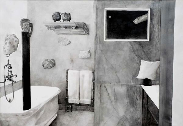 Hypothetical Arrangement for the interior design of Axel Vervoordt #1