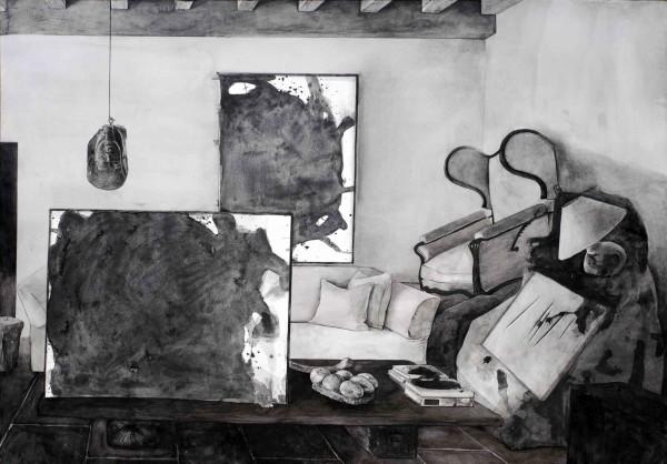 Hypothetical Arrangement for the interior design of Axel Vervoordt #4