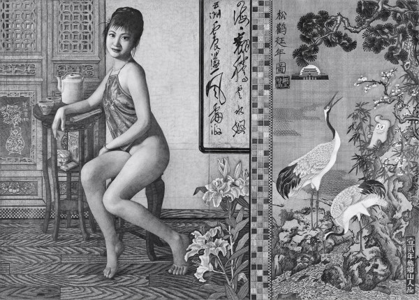 A Sitting Woman