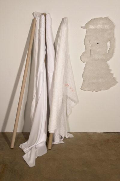 Cassandra Straubing, The Garment Designer Inventories Her Rolls Of Ghostly Fabric, Formulating The Next Season's Designs., 2014