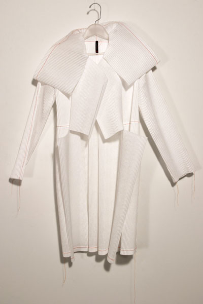 Cassandra Straubing, On Wednesday, The Garment Worker Hung Out Her Poetic Ghost., 2014