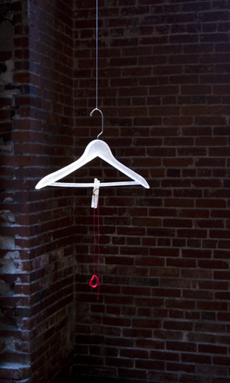 Cassandra Straubing, A Hanger For A Ghost., 2014