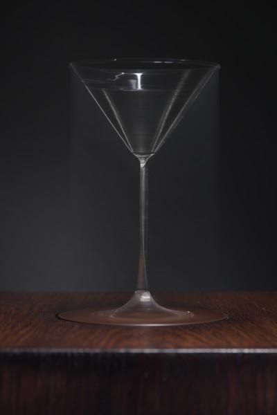 Jason Shulman, Spinning Martini glass, 2017