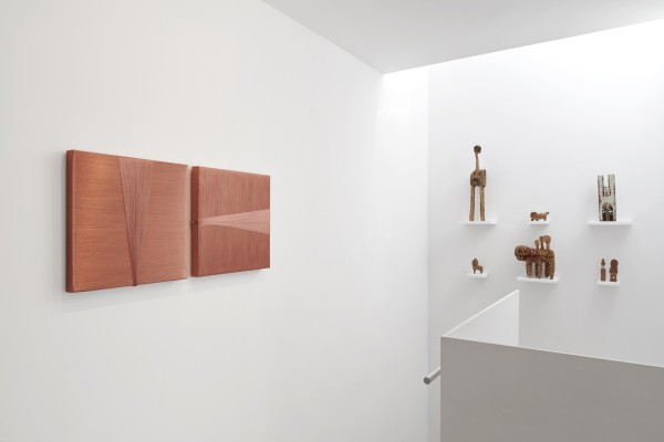 Installation View Of New Work Material At Cob Gallery Left To Right Alice Anderson Hirosuke Yabe Courtesy Of Cob Gallery