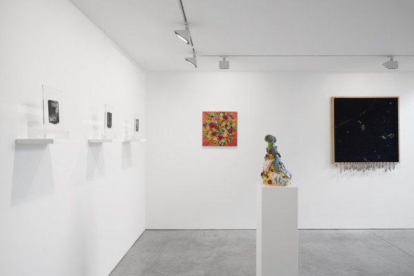 Installation View Of New Work Material At Cob Gallery Left To Right Henry Hudson Caroline Larsen Lindsey Mendick Rasmus S Ndergaard Johannsen Courtesy Of Cob Gallery