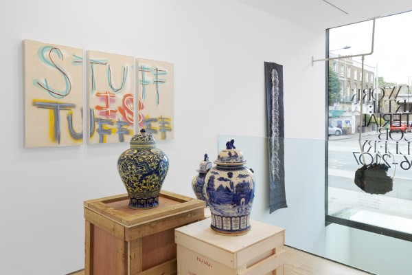 Installation View Of New Work Material At Cob Gallery Left To Right Thomas Langley Meekyoung Shin Linne A Sjo Berg Agata Ingarden Courtesy Of Cob Gallery