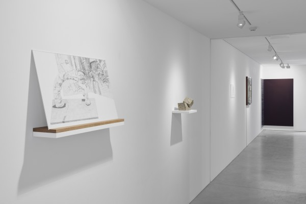Installation View Of New Work Material At Cob Gallery Left To Right Willa Hilditch Fernando Casasempere Nick Doyle Dean Levin Courtesy Of Cob Gallery